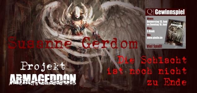 cyborg angel girl in catedral