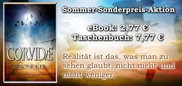 Corvidae Slider Sommer-Sonderpreis-Aktion