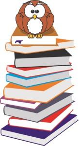 Bücher Eule