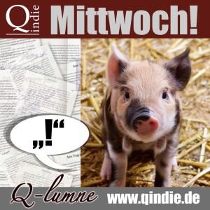 Kolumne Baby Schwein